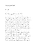 Nhật ký Anne Frank - Phần 5