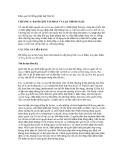 Khái quát hệ thống pháp luật Hoa Kỳ - CHƯƠNG 3: RANH GIỚI TÀI PHÁN VÀ LẬP CHÍNH SÁCH