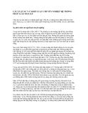 CÁC LUẬT SƯ VÀ NGHỀ LUẬT CHUYÊN NGHIỆP HỆ THỐNG PHÁP LUẬT HOA KỲ