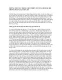 NHỮNG THỦ TỤC TRONG MỘT PHIÊN TỐ TỤNG HÌNH SỰ HỆ THỐNG PHÁP LUẬT HOA KỲ