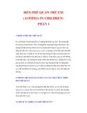 HEN PHẾ QUẢN TRẺ EM (ASTHMA IN CHILDREN) PHẦN I