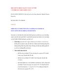HỘI CHỨNG ĐỘNG MẠCH VÀNH CẤP TÍNH ( SYNDROME CORONARIEN AIGU)
