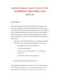 HỘI CHỨNG ĐỘNG MẠCH VÀNH CẤP TÍNH (SYNDROME CORONARIEN AIGU) (PHẦN III)