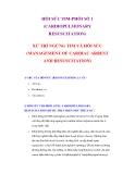 HỒI SỨC TIM-PHỔI SỐ 1