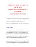 NGỘ ĐỘC THUỐC AN THẦN VÀ THUỐC NGỦ ( SEDATIVES AND HYPNOTICS OVERDOSE ) NGỘ ĐỘC BARBITURIQUE