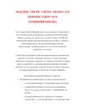 NGỘ ĐỘC THUỐC CHỐNG TRẦM CẢM (INTOXICATION AUX ANTIDEPRESSEURS)