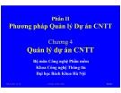 Bài giảng hệ điều hành :  Phương pháp Quản lý Dự án CNTT part 1