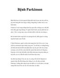 Tình trạng Bệnh Parkinson