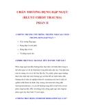 CHẤN THƯƠNG ĐỤNG DẬP NGỰC (BLUNT CHEST TRAUMA) (PHẦN II)