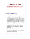 CÓ THAI LẠC CHỖ (ECTOPIC PREGNANCY)