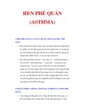 BỆNH HEN PHẾ QUẢN (ASTHMA)