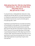 Ôn thi: Bình giảng đoạn thơ: Bên kia sông Đuống