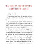 TÀI LIỆU ÔN TẬP DUYÊN HẢI MIỀN TRUNG - ĐỊA 12_2