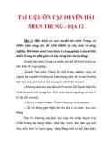 TÀI LIỆU ÔN TẬP DUYÊN HẢI MIỀN TRUNG - ĐỊA 12_3