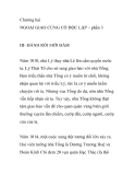 Chương hai: NGOẠI GIAO CỦNG CỐ ĐỘC LẬP – phần 3 ĐÁNH RỒI MỚI ĐÀM