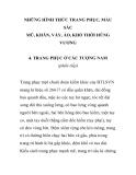 NHỮNG HÌNH THỨC TRANG PHỤC, MÀU SẮC MŨ, KHĂN, VÁY, ÁO, KHỐ THỜI HÙNG VƯƠNG - TRANG PHỤC Ở CÁC TƯỢNG NAM PHẦN 2