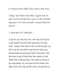 NGOẠI GIAO TRIỀU GIA LONG (1802-1819)