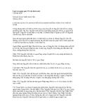 Lược sử ngoại giao VN các thời trước - Chương mười  NGOẠI GIAO THỜI NGUYỄN (Thế kỷ XIX)