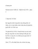 Chương tám: NGOẠI GIAO THỜI LÊ - TRỊNH NGUYỄN-  Quan hệ với Xiêm