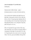 Lược sử ngoại giao VN các thời trước Chương bảyNGOẠI GIAO THỜI LÊ MẠC –