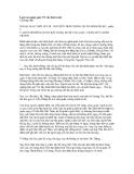 Lược sử ngoại giao VN các thời trước - Chương năm:  NGOẠI GIAO THỜI LÊ LỢI - NGUYỄN TRÃI CHỐNG QUÂN MINH ĐÔ HỘ - phần 5 V. HỘI THỀ ĐÔNG QUAN BẮT HÀNG MƯỜI VẠN GIẶC, CHẤM DỨT CHIẾN TRANH