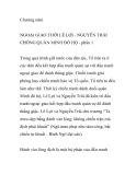 NGOẠI GIAO THỜI LÊ LỢI - NGUYỄN TRÃI CHỐNG QUÂN MINH ĐÔ HỘ - PHẦN 1