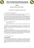 Giáo trình dùng thuốc kháng sinh trong điều trị thú y với triệu chứng của choáng phản vệ p1