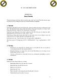 Giáo trình dùng thuốc kháng sinh trong điều trị thú y với triệu chứng của choáng phản vệ p2