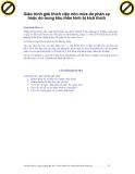 Giáo trình giải thích việc nôn mửa do phản xạ hoặc do trung khu thần kinh bị kích thích p1