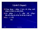 Cấu trúc máy tính và lập trình Assembly : CHƯƠNG TRÌNH GỠ RỐI DEBUG part 6