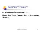 Cấu trúc máy tính và lập trình Assembly : BỘ NHỚ (Memory) part 3