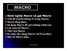 Cấu trúc máy tính và lập trình Assembly : MACRO part 1