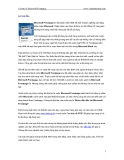 Cơ bản về Microsoft Frontpage part 1
