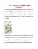 Bài 1 Cuộc sống sau khi bị tự kỷ (Maureen)