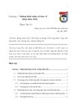 Giáo trình Động lực học biển - Chương 1