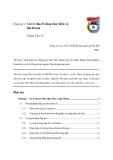 Giáo trình về Động lực học biển - Chương 2