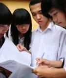 Đề thi Đại học môn Sinh khối B năm 2011 - Mã đề 162