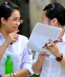 Đề thi Đại học môn Sinh khối B năm 2011 - Mã đề 852
