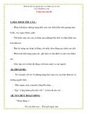 Giáo án chương trình mới: Lớp lá Cảm xúc của bé