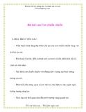 Giáo án chương trình mới: Lớp lá Bài hát của Con chuồn chuồn