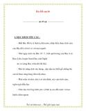 Giáo án chương trình mới: Lớp lá Bác Hồ của bé