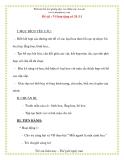 Giáo án chương trình mới: Lớp Chồi Đề tài : Vẽ hoa tặng cô 20 /11