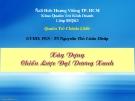 Bài giảng: Xây dựng chiến lược đại dương xanh