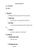 Giáo án tin học 9 - ôn tập chương 1