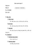 Giáo án tin học 9 - CHƯƠNG V: VẼ ĐỒ THỊ