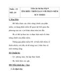 Giáo án tin học lớp 8 - TÌM HIỂU THỜI GIAN VỚI PHẦN MỀM SUN tiết 3