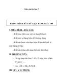 Giáo án tin học 7 - BÀI 9: TRÌNH BÀY DỮ LIỆU BẰNG BIỂU ĐỒ