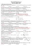 Đề thi thử đại học năm 2011 - Môn vật lý - Đề số 30