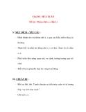 Giáo án chương trình đổi mới Chủ Đề : MÙA XUÂN Đề tài : Nhóm chữ s, x