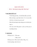 """Giáo án chương trình đổi mới Chủ đề : MÙA XUÂN Đề tài : Rèn luyện kỹ năng ca hát """"Mùa Xuân"""